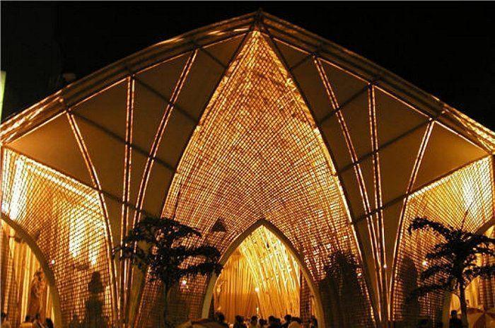 13 impresionantes casas hechas 100 con bamb  Casas