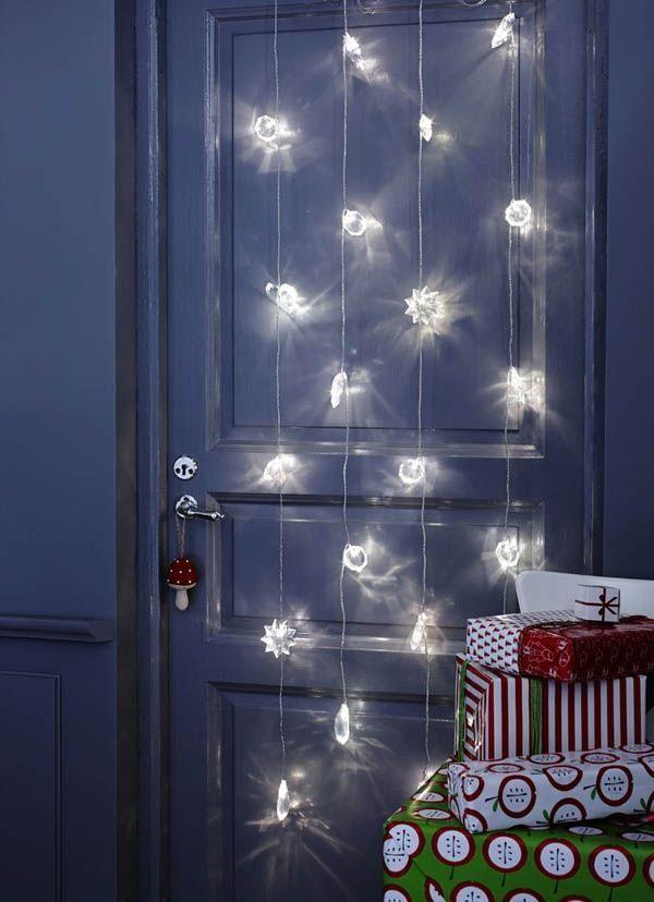 22 ideas para decorar con luces navideas sin esperar a la Navidad  Casas IncreiblesCasas