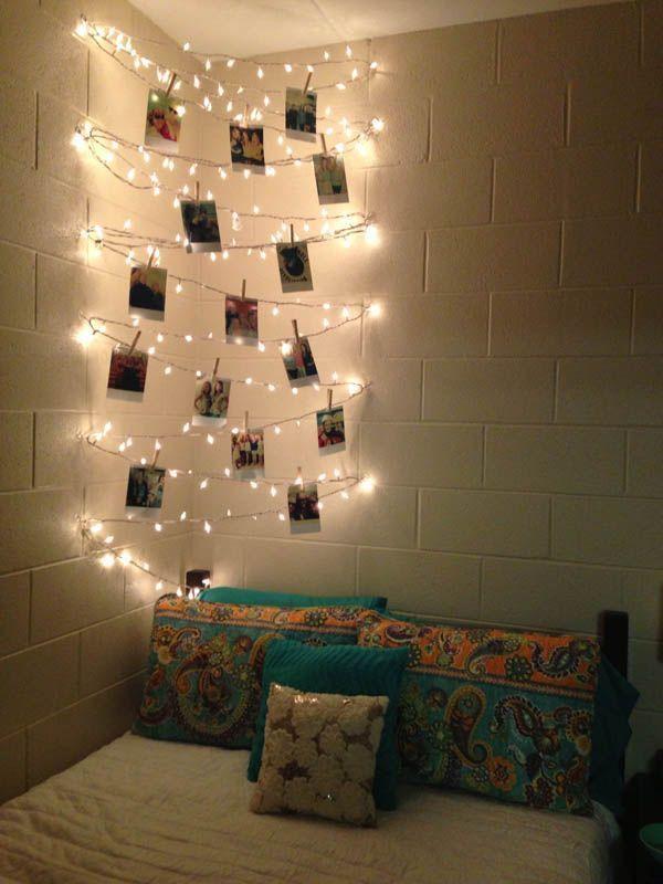 22 ideas para decorar con luces navideas sin esperar a la Navidad  Casas Increibles