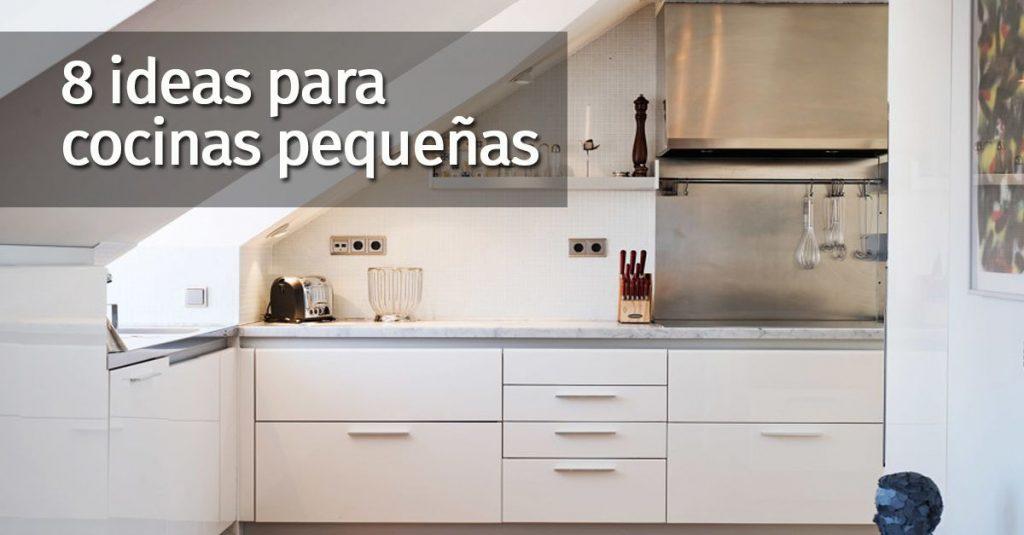 8 cosas a tener en cuenta si tienes una cocina pequea