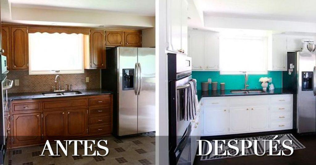 6 ejemplos de cmo puedes renovar tu cocina sin hacer obra