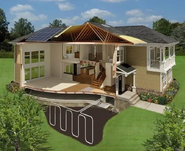 Casa ecolgica con energa solar  Casas Prefabricadas