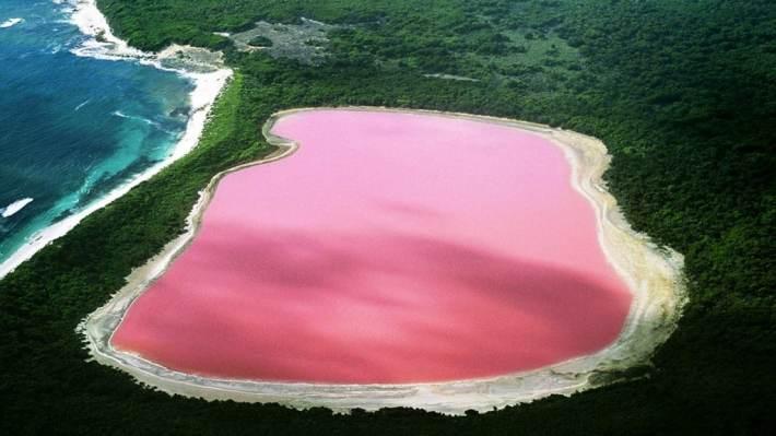 Lacul-Hillier-Australia