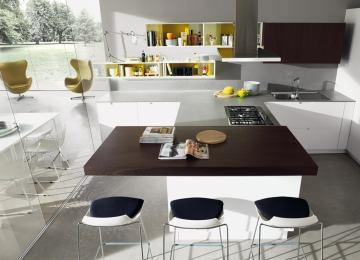 Piano Snack Cucina | Cucine Ad Angolo Moderne Piano Di Lavoro E Capienza