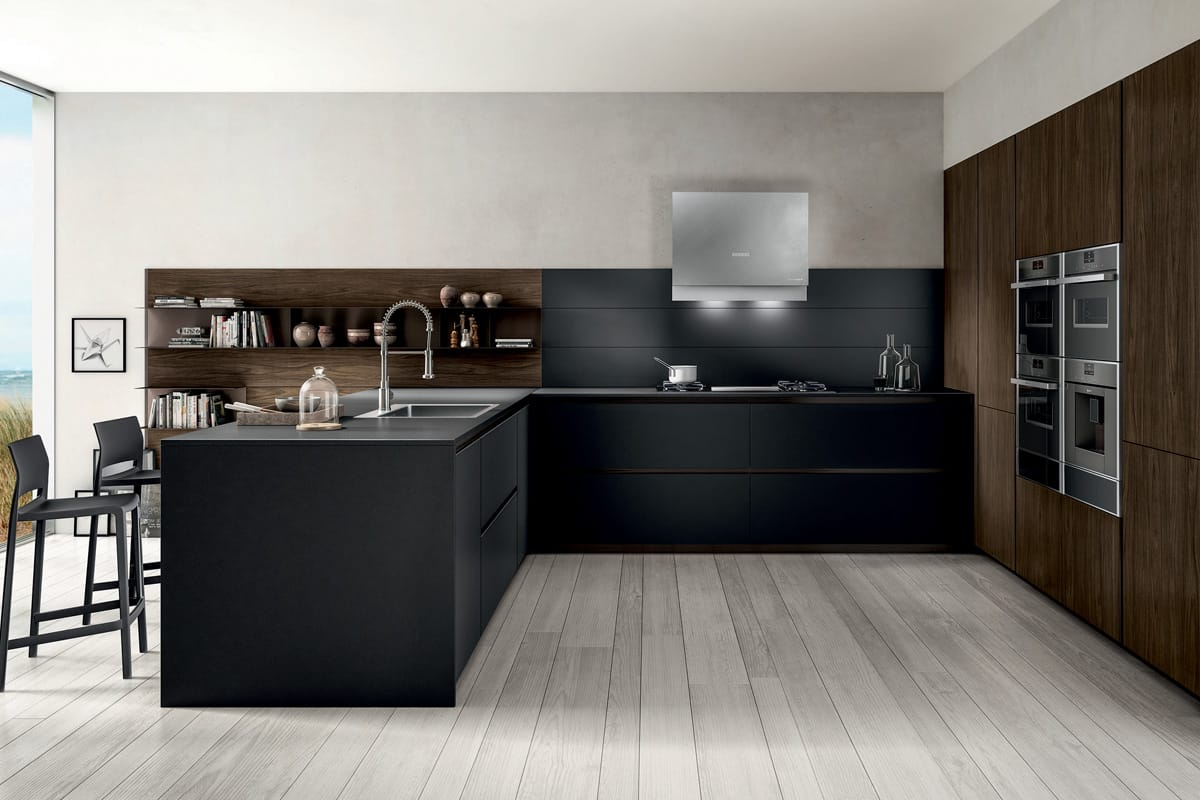 Cucina Con Snack | Grazioso Bordo Top Cucina Ikea Cucina Design Idee