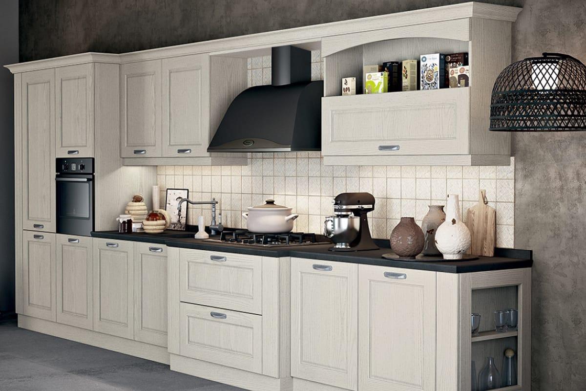 Mobili Contemporanei Cucina : Mobili cucina classici legno bianco avorio champagne