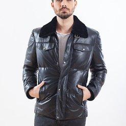 Jacheta din piele de ovine - PIUMINO 04