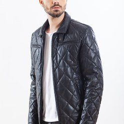 Jacheta slim din piele - PIUM 05