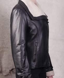 Jacheta din piele naturala de ovine - SP 154