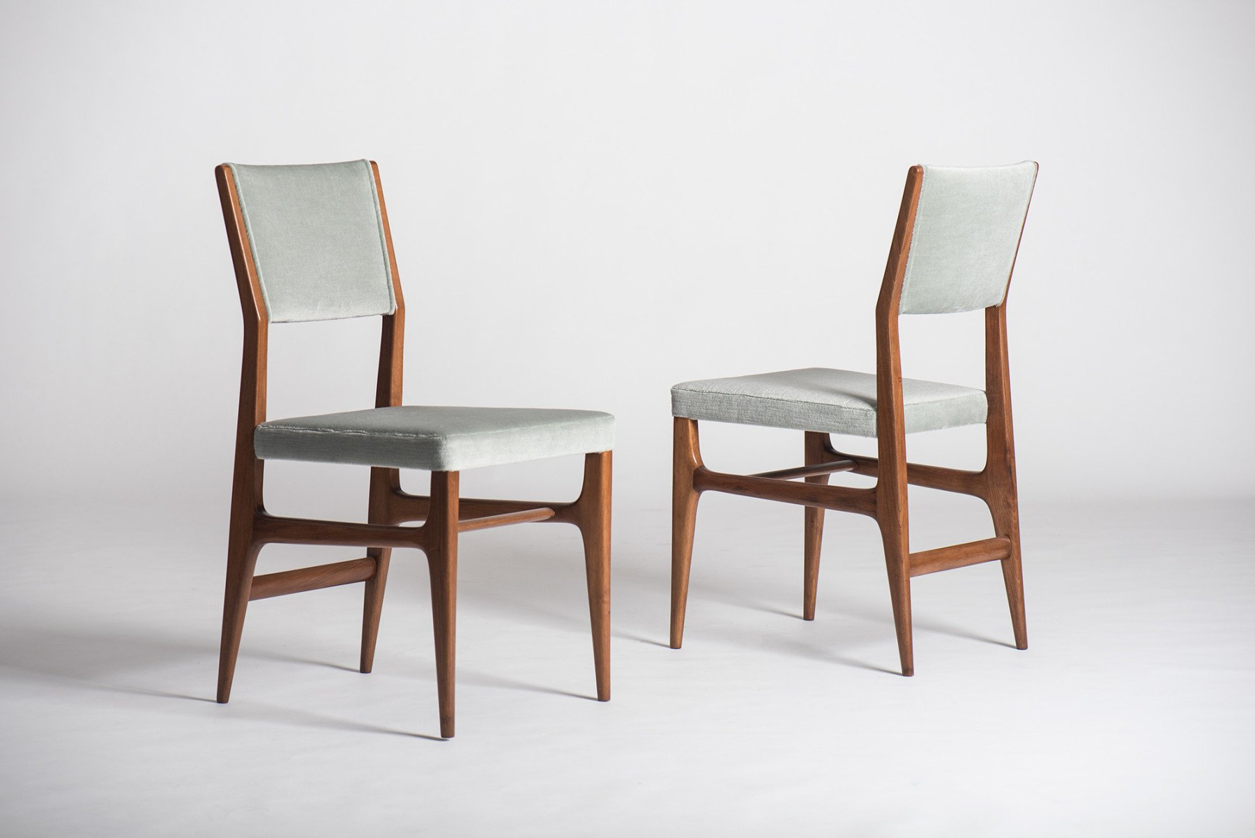Dining Chair Set Of 6 Gio Ponti Set Of 6 Dining Chairs Model 111 Italian Design At