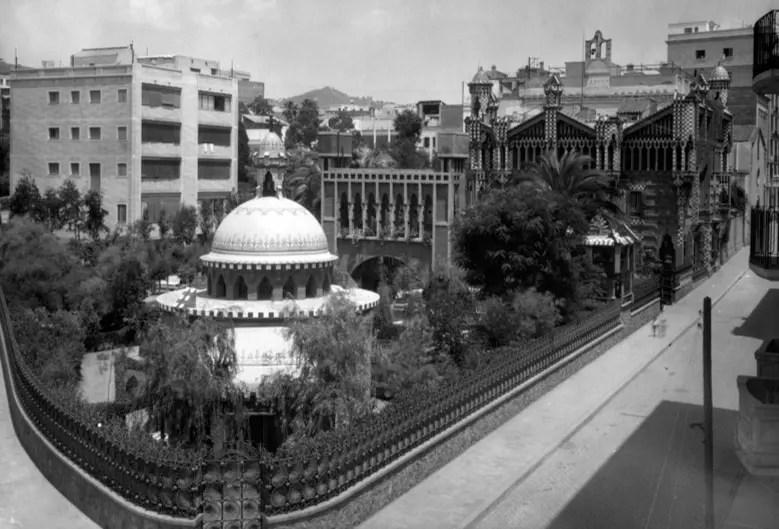Primera casa de Gaud en Barcelona  Casa Vicens