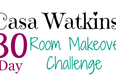 First Floor Home Tour and 30 Day Room Makeover Challenge