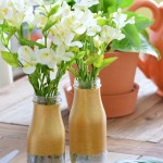 DIY-Two-Tone-Painted-Mercury-Glass-Bottle-Vase