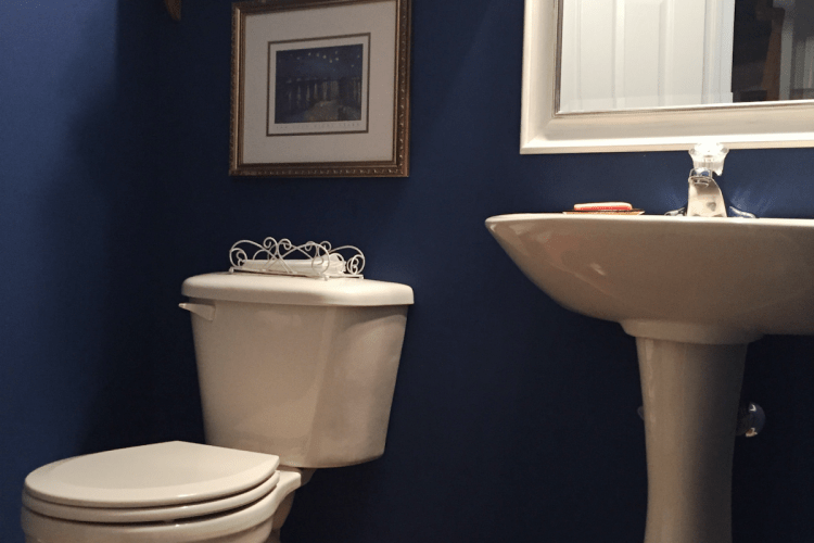 Powder Room Makeover Reveal