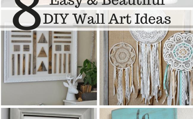 8 Easy And Beautiful Diy Wall Art Ideas Casa Watkins Living