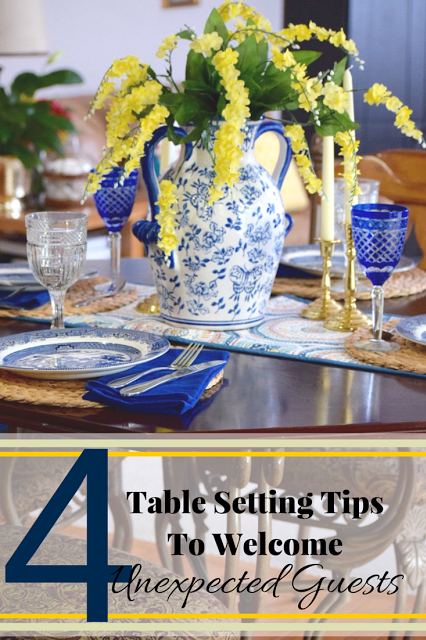 tablescapes, guests, dinner, lunch, houseguest,