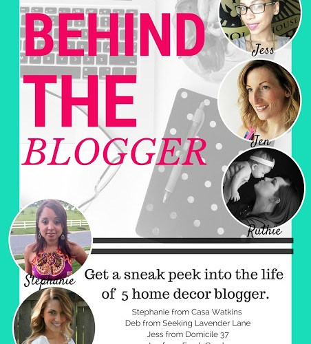 Behind the Blogger:  The Man Beside the Blogger