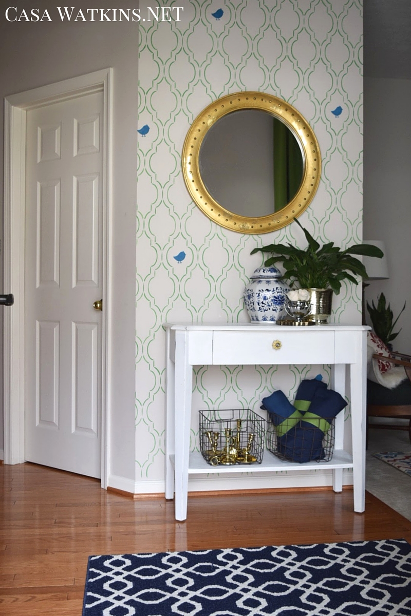 One Room Living Global Eclectic Living Room Makeover Reveal Casa Watkins Living