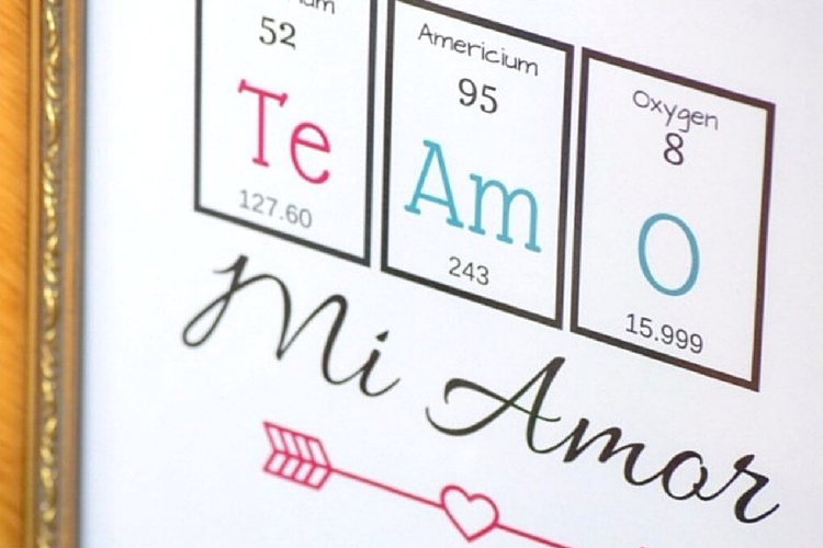Free periodic table valentines day printable spanish printable art free periodic table valentines day printable spanish printable art casa watkins living urtaz Images