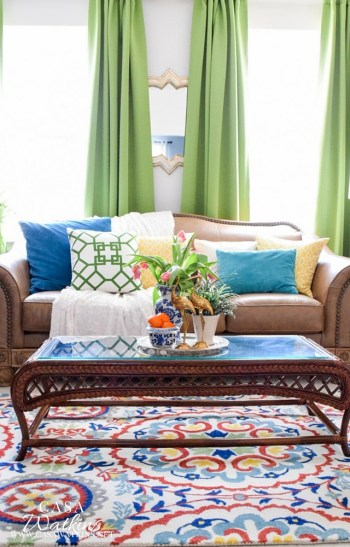 Colorful-Spring-Decorated-Global-Eclectic-Living-Room