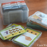 How to organize flashcards