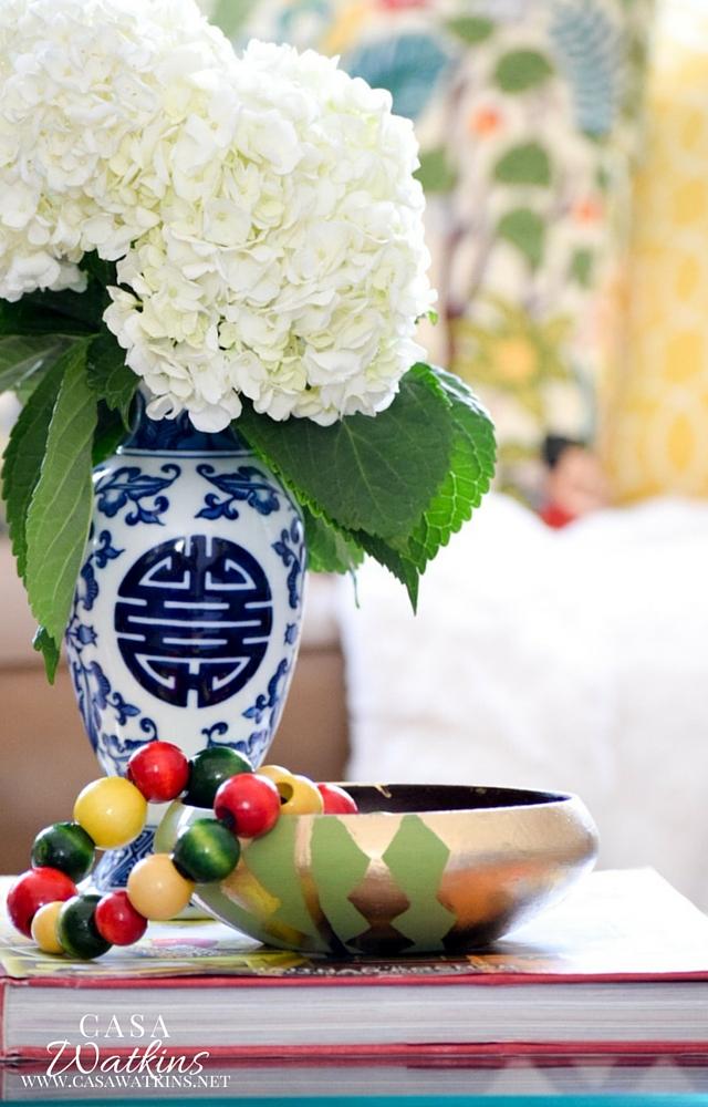 Diy Colorful Wood Bead Vase Filler Casa Watkins Living