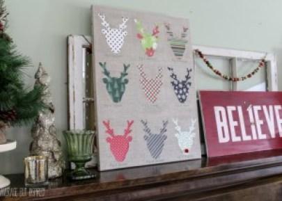 10 Incredible Diy Christmas Wall Art Ideas You Still Have Time To Make Casa Watkins Living