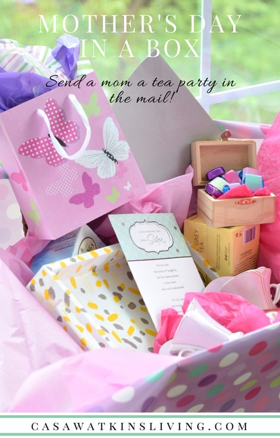 DIY Mother's Day Tea Party In a Box