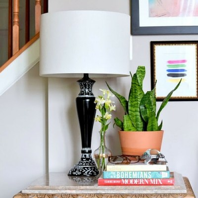 DIY Mud Cloth Lamp: Create and Share Challenge