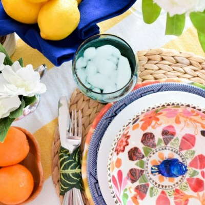 How To Create A Modern Mix Spring Tablescape Inspired by Eddie Ross