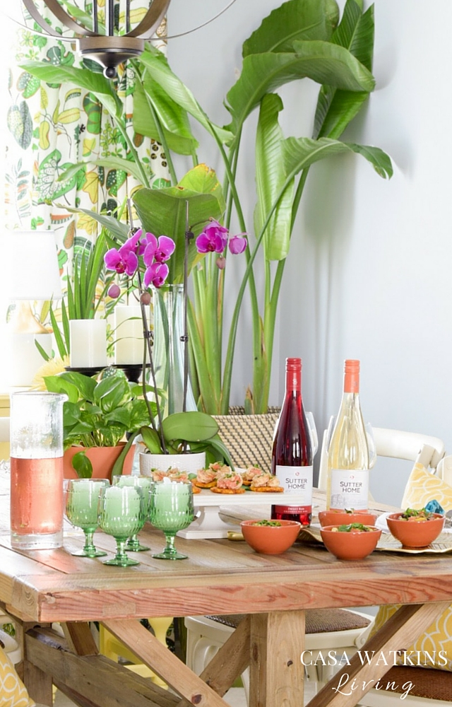 Great recipes for hosting a wine tasting