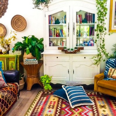 Colorful Global Boho Home Tour: La Boheme House