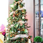 Colorful Global Boho Christmas Tree Casa Watkins Living