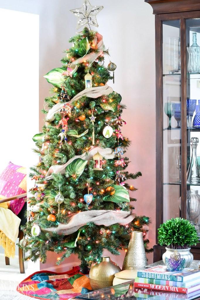 how-to-decorate-global-boho-christmas-tree