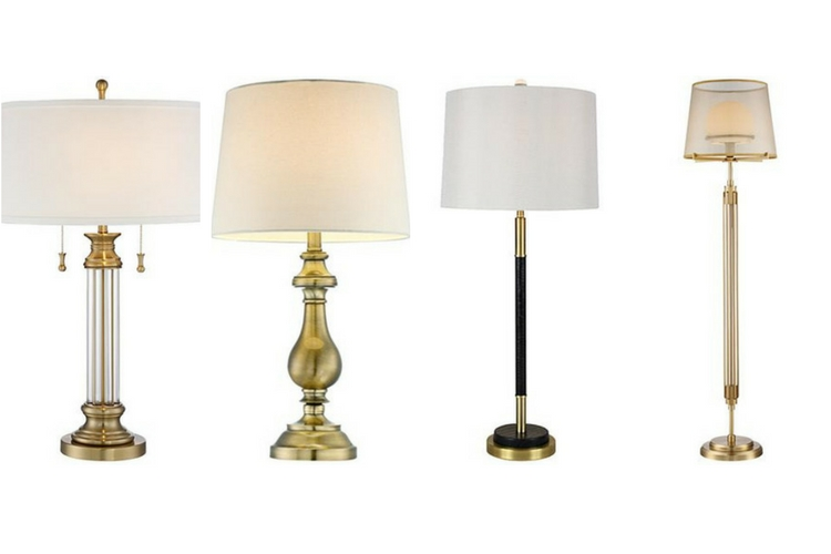 10 Brass Lamps For Eclectic Spaces