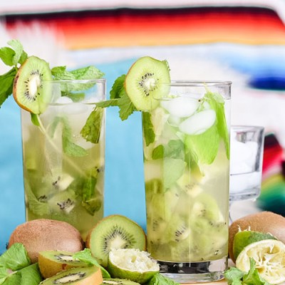 How To Make A Refreshing Kiwi Mojito