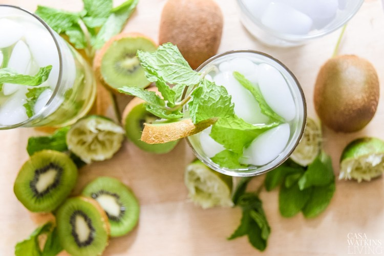 how to make kiwi mojito