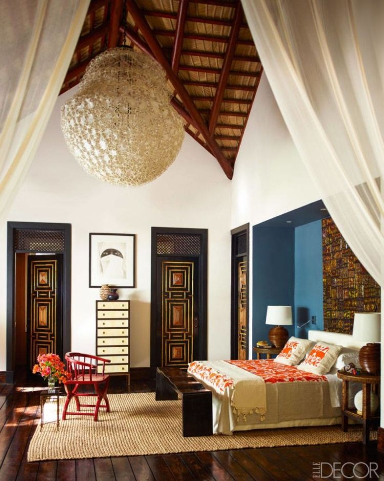 Caribbean style bedroom from home in Dominican Republic