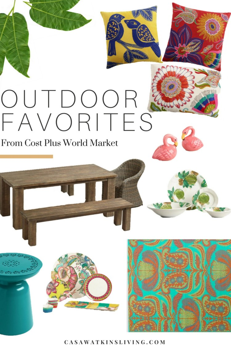 favorite outdoor items from Cost Plus World Market