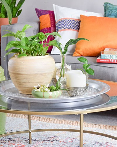 How To Use Plants for Summer Table Decor