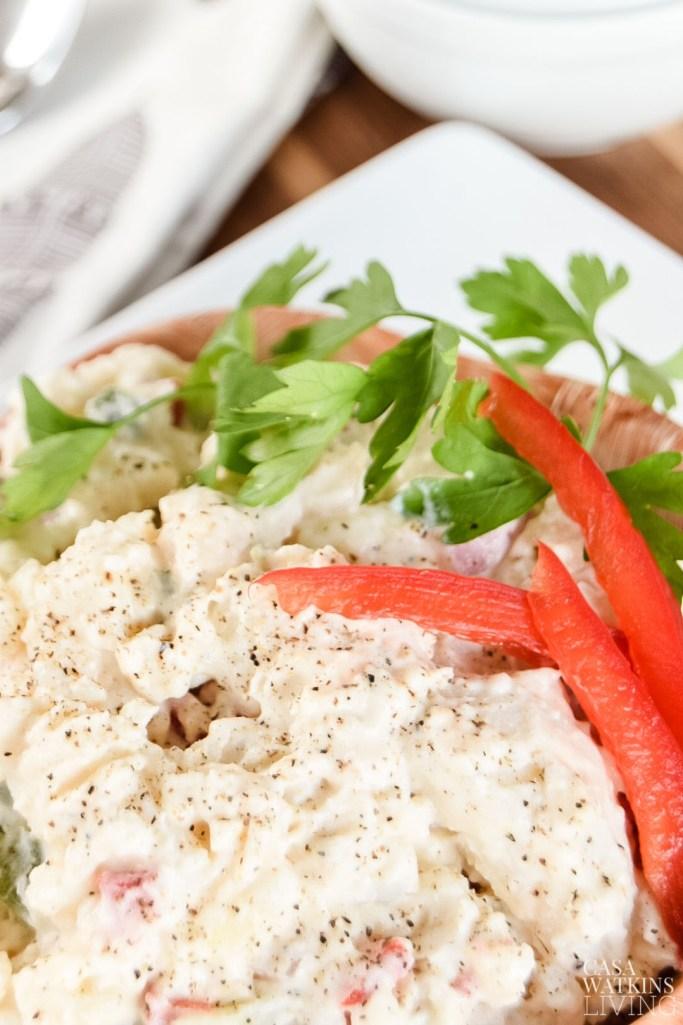 how to make easy potato salad