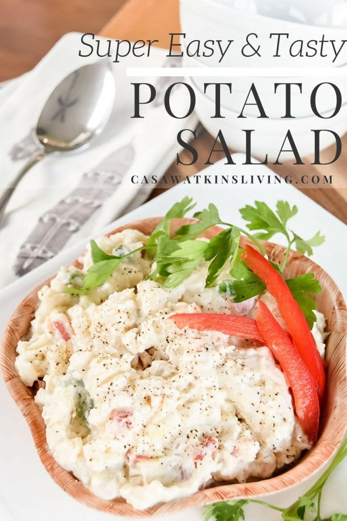 super easy and tasty potato salad recipe