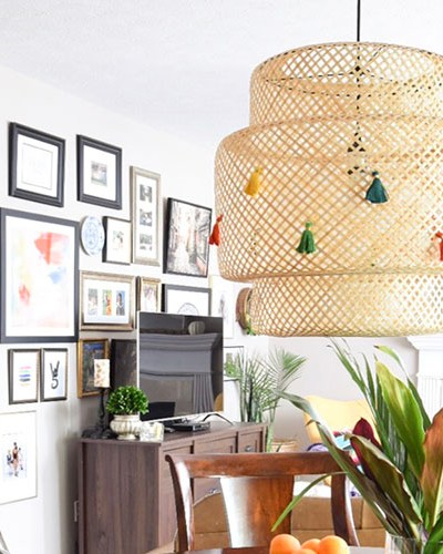 DIY Ikea Lamp Makeover Ideas
