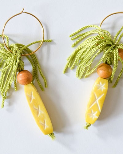 DIY Pineapple Inspired Wine Charms