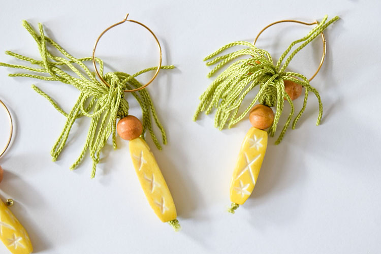 DIY Pineapple Inspired Wine Charms