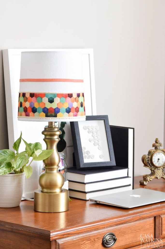 diy boho chic lamp makeover with thrift store lamp