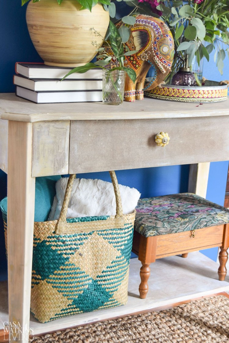 how to weather MDF furniture