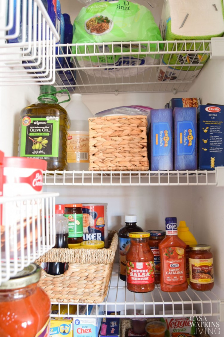 quick pantry makeover and organization ideas