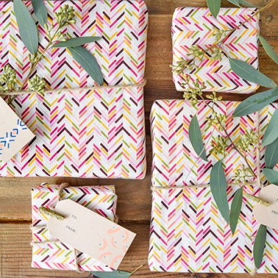 DIY Tribal Gift Tags
