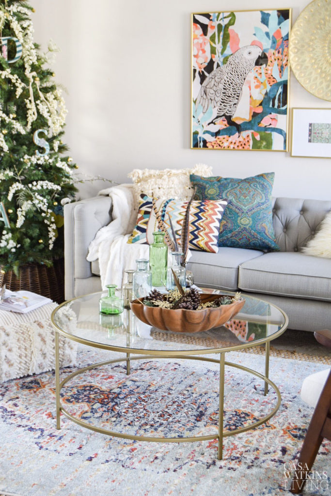 boho christmas room tour and decor ideas